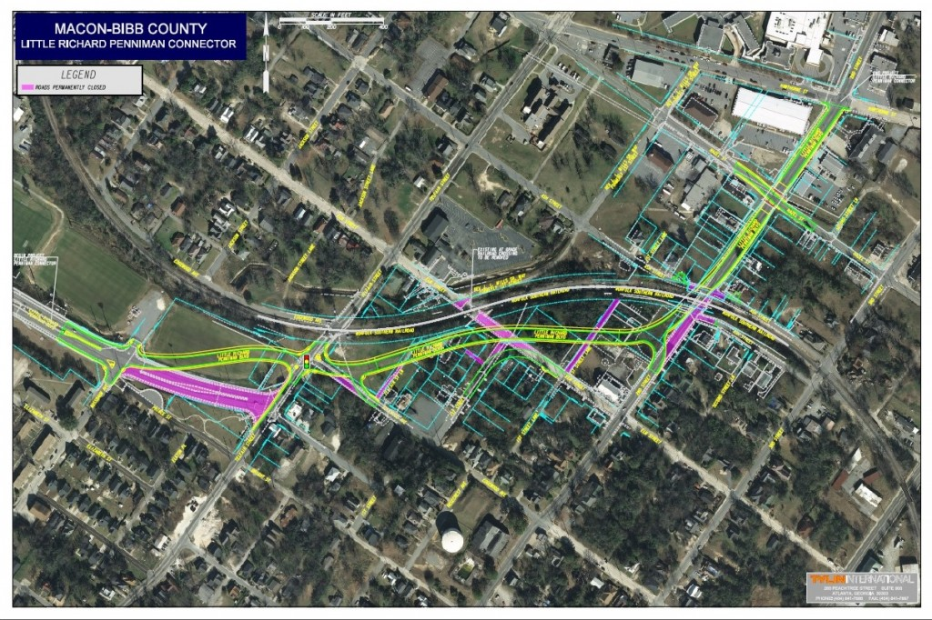 To view the map of the approved closures and right-of-way plan, click here.