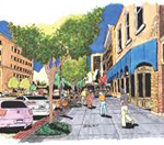 Second Street Corridor Vision Block