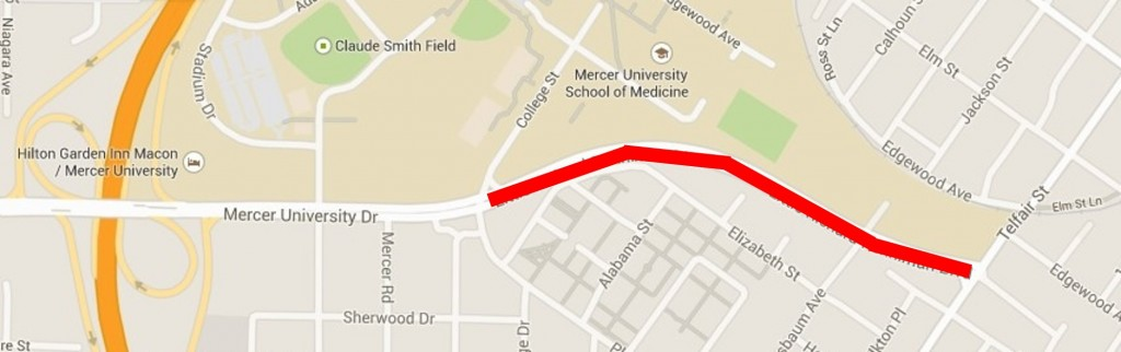 Second Street Corridor Connector Road Closure