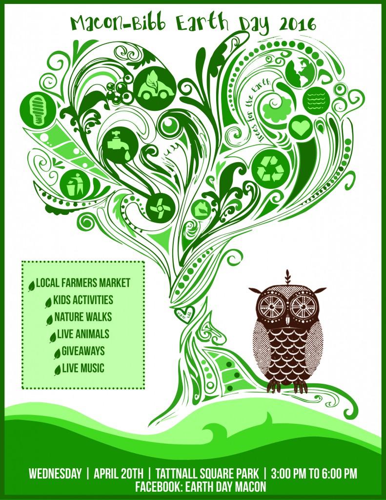 Macon Bibb – Earth Day celebrated in Tattnall Square Park