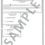 Sample Ballot Non-Partisan Runoff Election 07-24