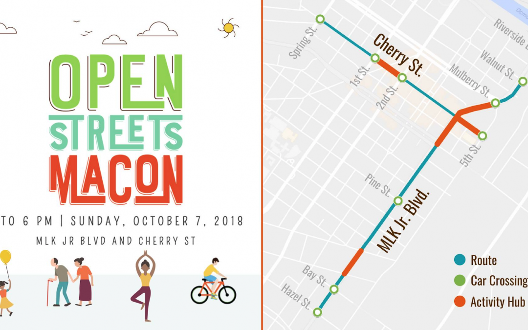 New route, Pokemon game part of next Open Streets Macon