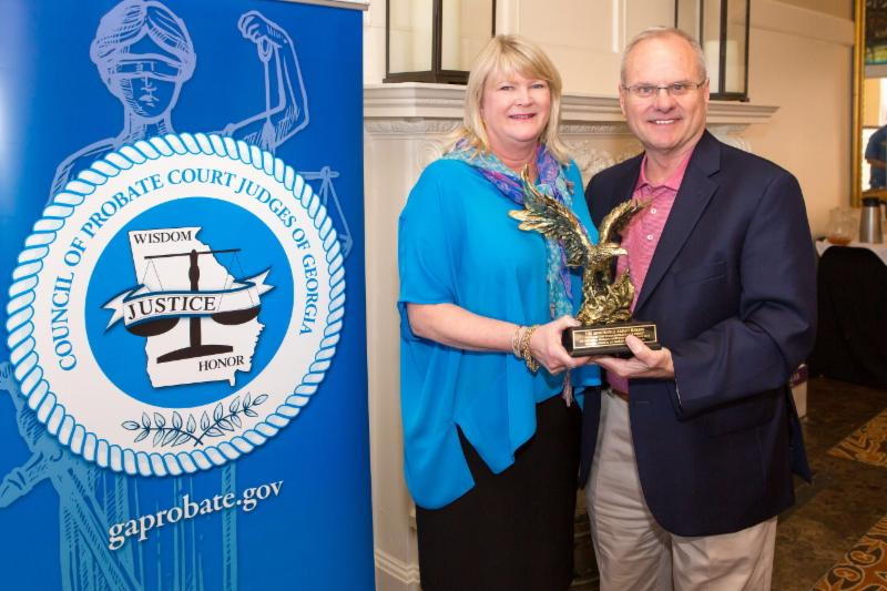 Judge Sarah Harris honored with Outstanding Probate Judge of the Year Award