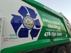 MBC Recycling Truck