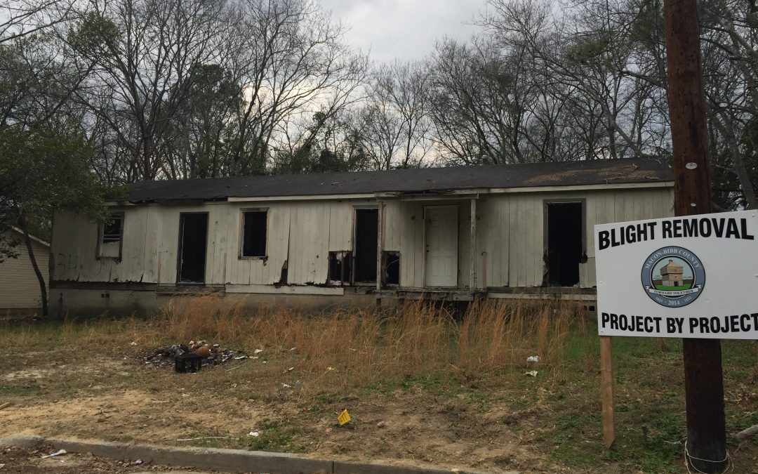 Fighting blight project by project in Macon-Bibb