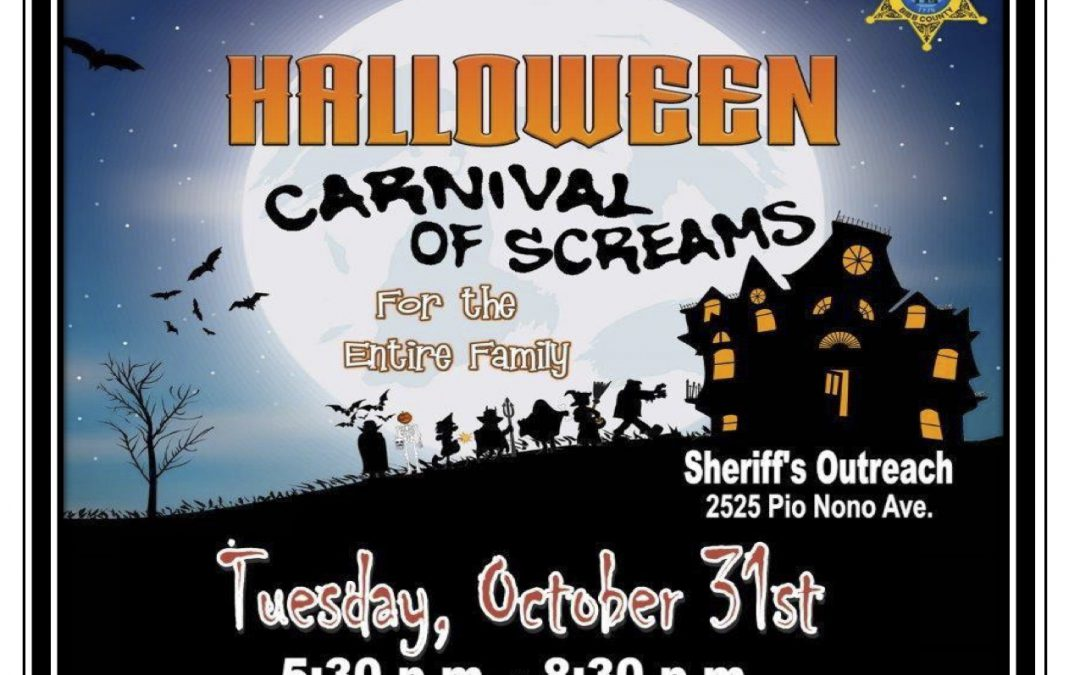 Halloween festival & safety guidelines from the Sheriff's Office