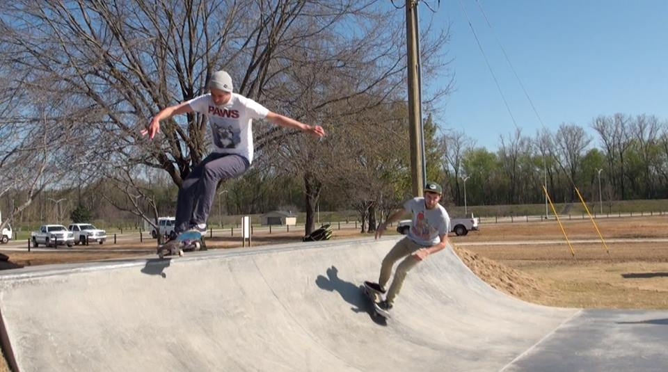 Second phase of skate park construction celebrated