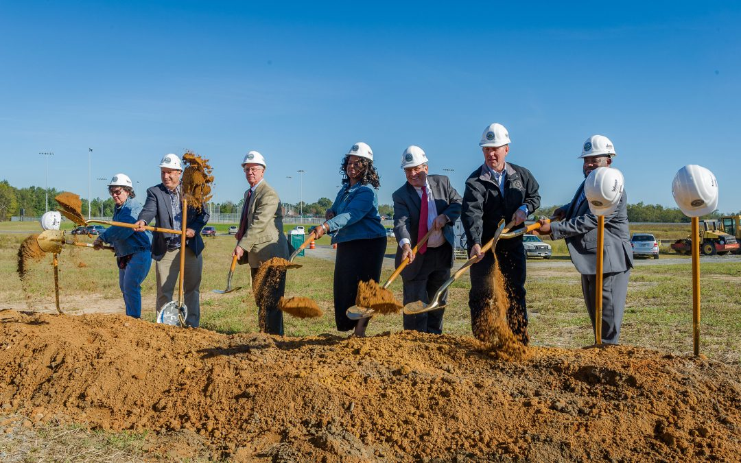 Second phase of South Bibb Recreation Center construction celebrated