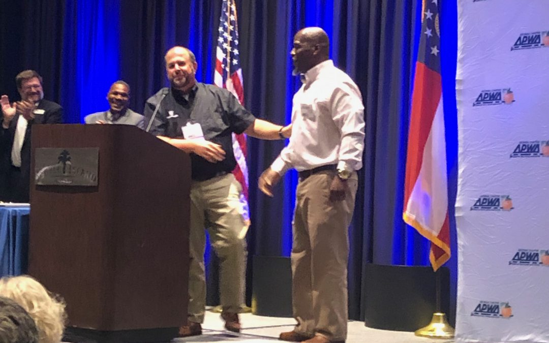 Roderick Bell wins statewide street sweeper competition