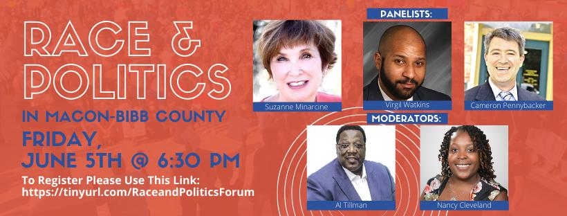 Commissioners Tillman & Watkins holding Race & Politics forum via Zoom