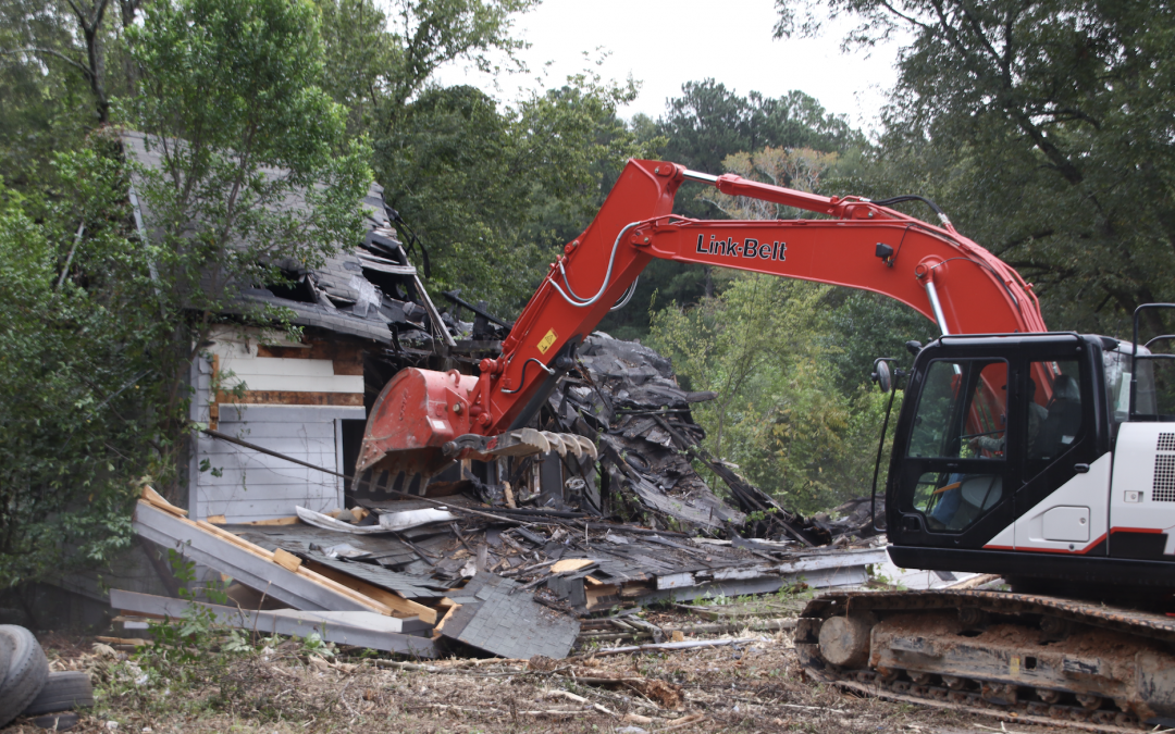 House demolitions part of Ocmulgee Mounds National Historical Park expansion