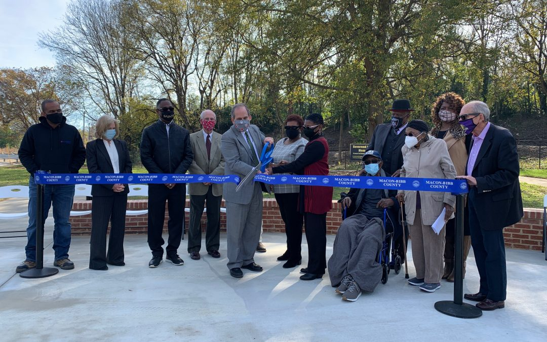 New park replaces blighted structures