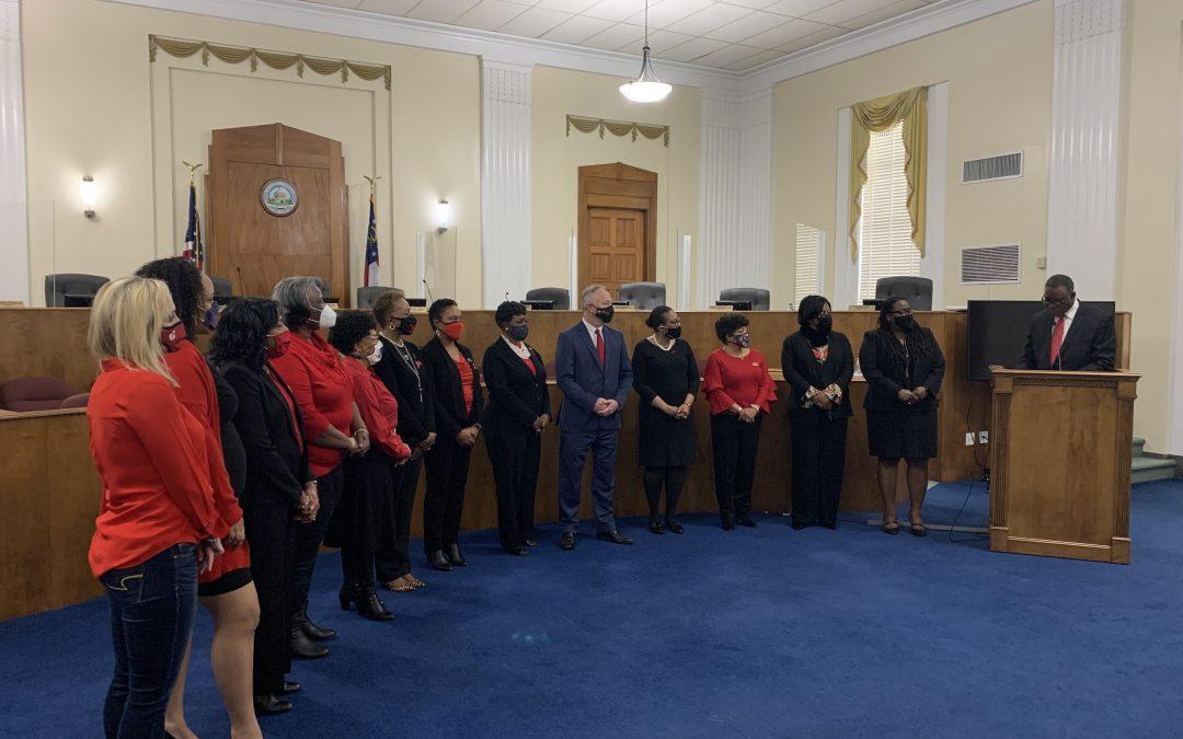 Mayor designates February American Heart Month