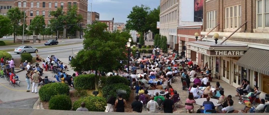 Jazz in the Courtyard returns  to Historic Douglass Theatre
