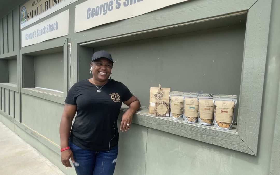 Good Boy Goodies offers dog treats at Amerson River Park