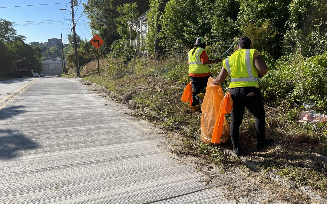 County departments team up to clean Pleasant Hill Neighborhood
