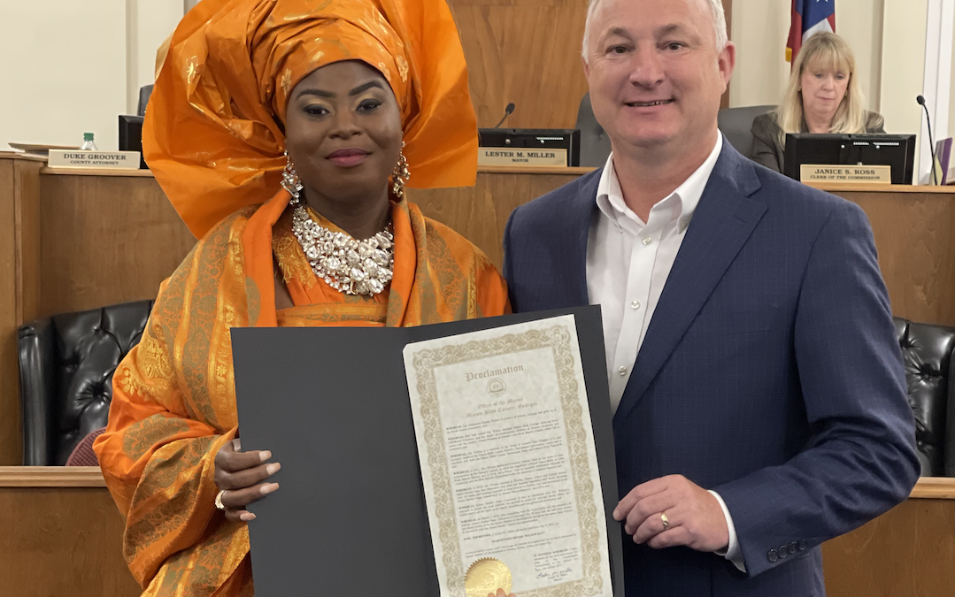 Mayor Miller honors Earnestine Denise Wilson with Proclamation
