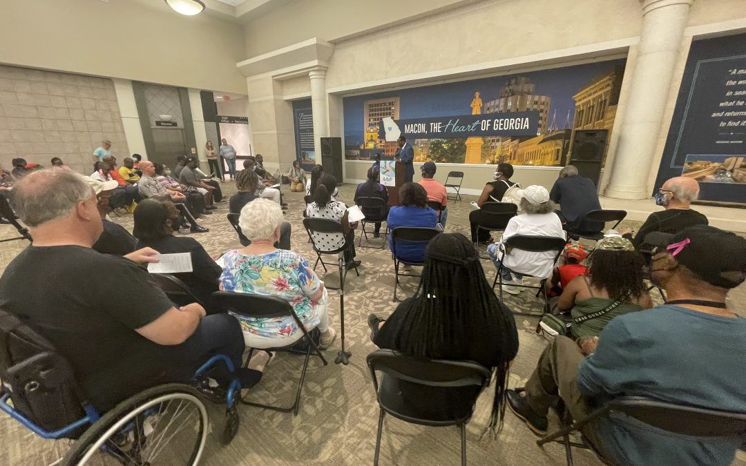 First public forum held, more forums scheduled for Macon Violence Prevention