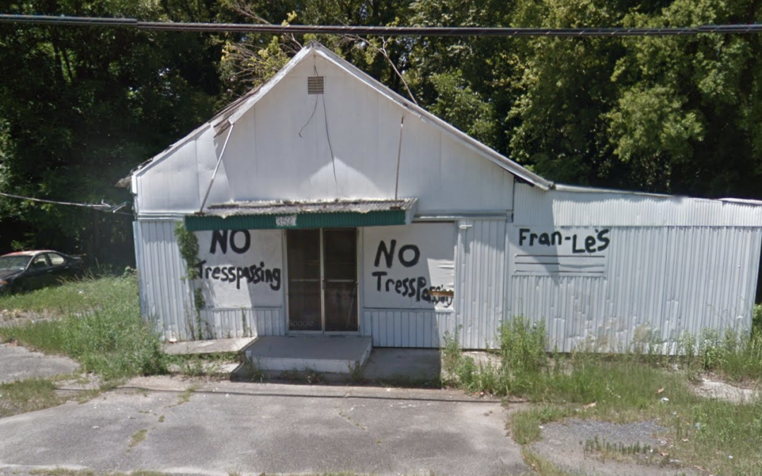 First commercial property to be demolished as part of Blight Fight