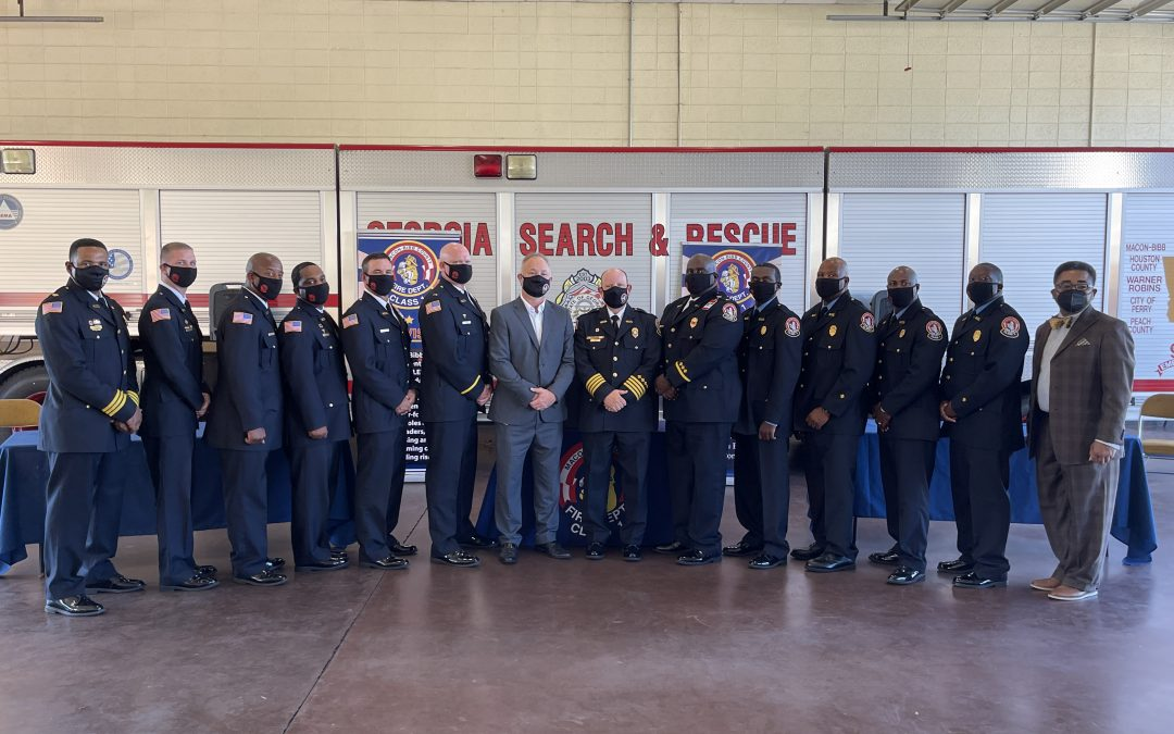 Macon-Bibb County firefighters promoted