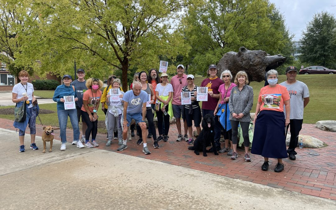 Jerry Farber walks near and far for homelessness