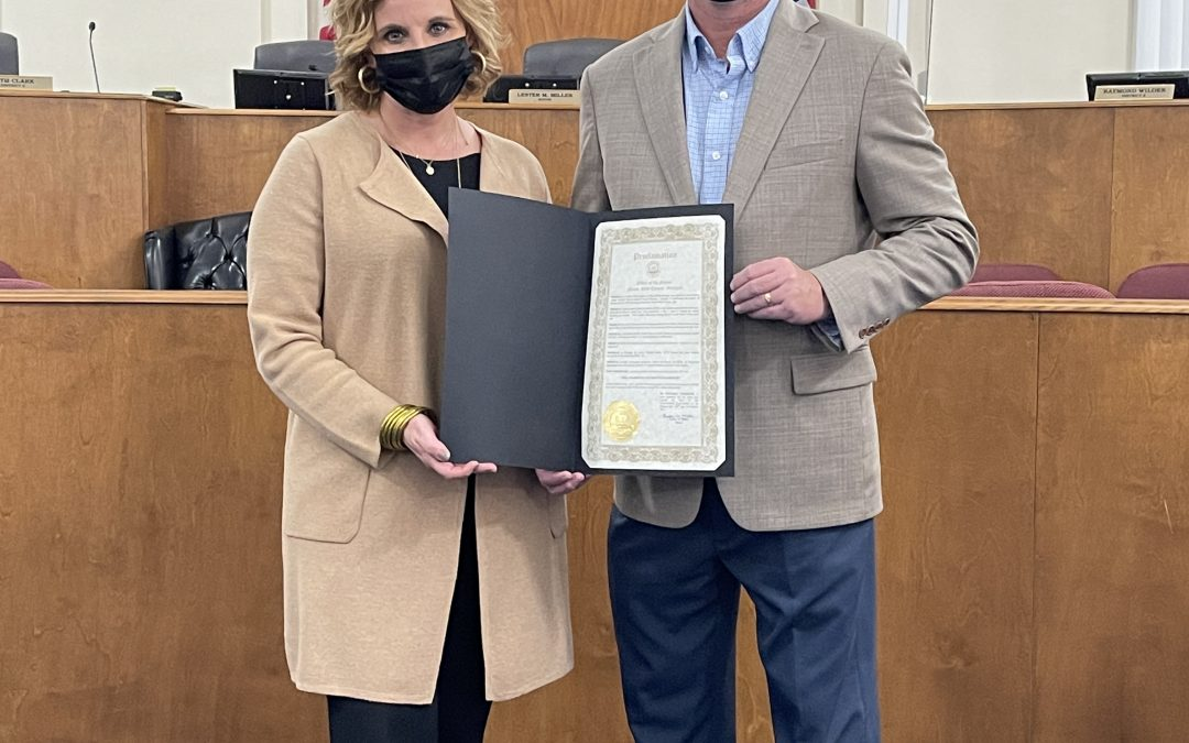 Mayor proclaims October as SIDS awareness month
