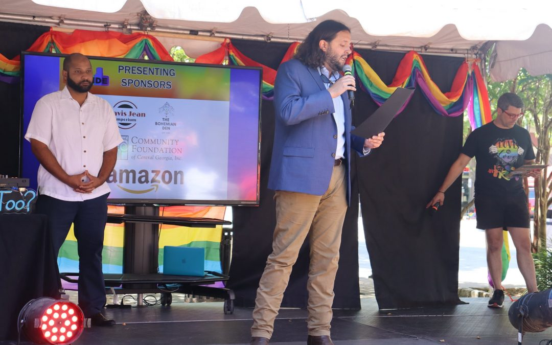 Commissioners present proclamation for Pride Week in Macon-Bibb